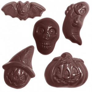 Moule Chocolat Friture Halloween (x30) Chocolate World