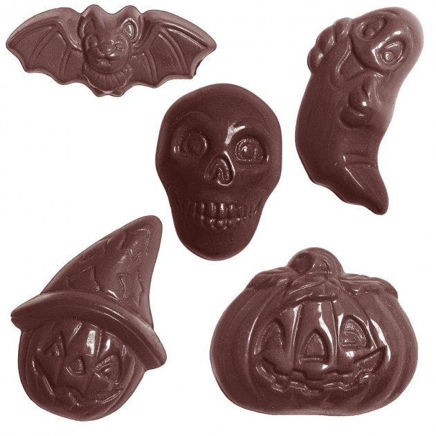 Moule Chocolat Friture Halloween (x30) Chocolate World