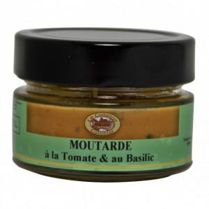 Moutarde Tomate et Basilic 100 g Le Comptoir Colonial
