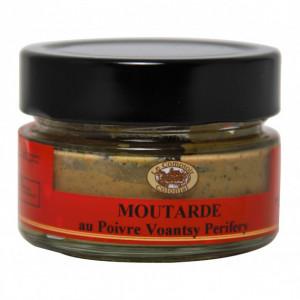 Moutarde au Poivre Sauvage Voantsy Perifery 100 g Le Comptoir Colonial