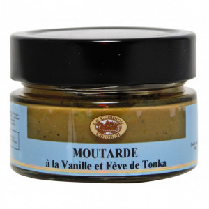 Moutarde Vanille et Fève Tonka 100 g Le Comptoir Colonial