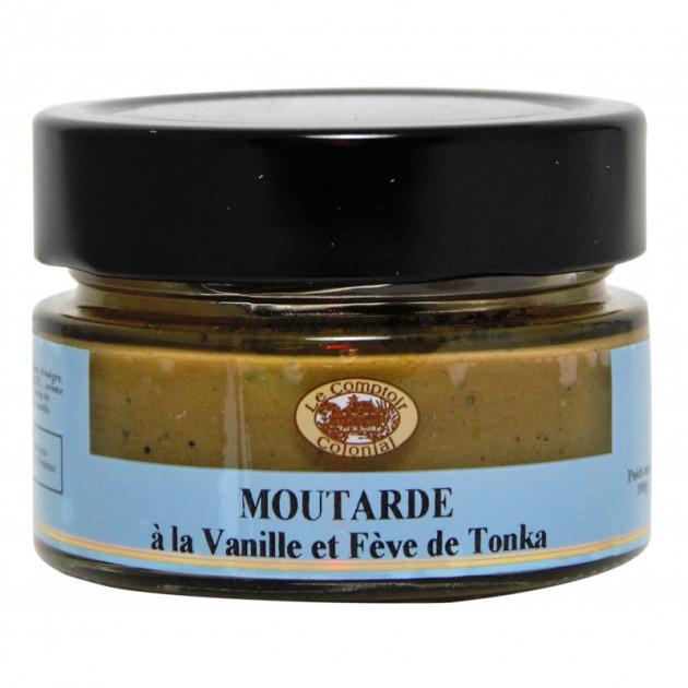 Moutarde Vanille et Feve Tonka 100 g Le Comptoir Colonial