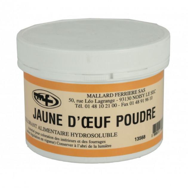 Colorant alimentaire Jaune d'Oeuf E102/E129 Poudre Hydrosoluble 100g