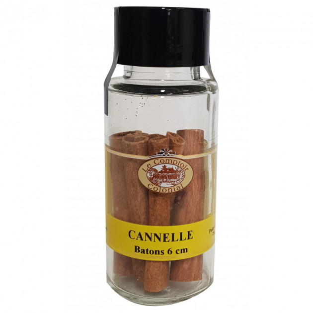 ecorce de Cannelle de 6 cm Indonesie 25 g Le Comptoir Colonial