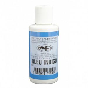 Colorant alimentaire Bleu Indigo E132 Liquide 100ml