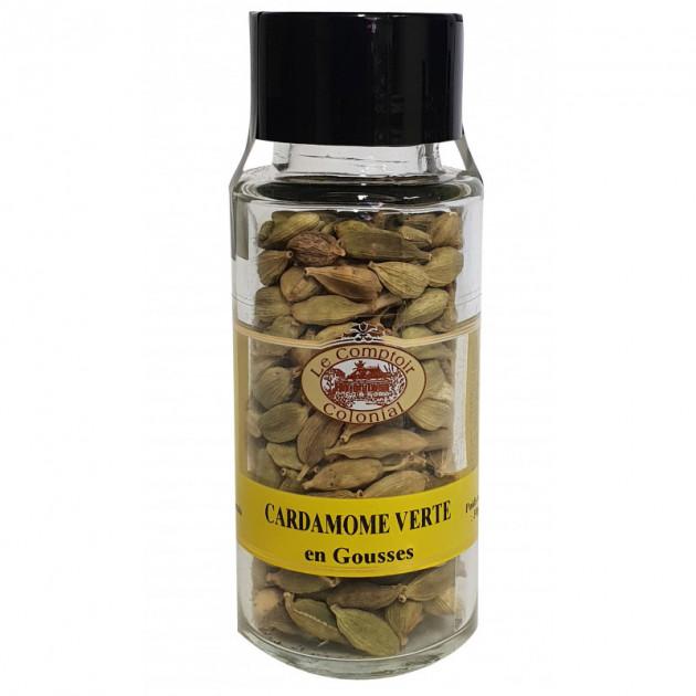 Cardamome Verte en Gousse 30 g Le Comptoir Colonial