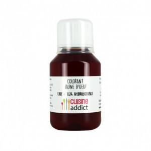 Colorant alimentaire Jaune d'Oeuf E102/E124 Liquide 115 ml