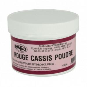 Colorant alimentaire Rouge Cassis E129/E133 Poudre Hydrosoluble 100g