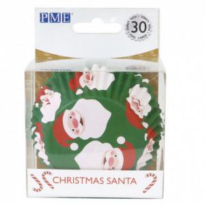 Caissette cupcake Père Noël x30 PME