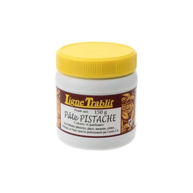 Pate de Pistache 96% Coloree 150g Trablit