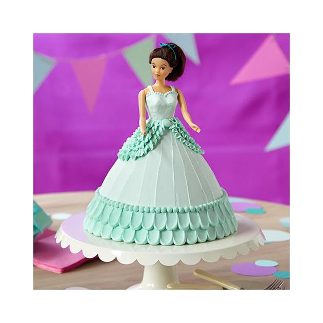 Resultat du KIT Wilton robe de princesse