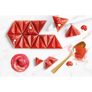 Moule Chocolat Praline Ruby 39,5 mm (x21) Chocolate World
