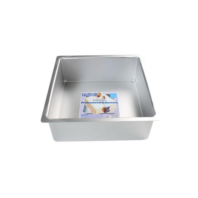 Moule Carre Ultra Profond 10 x 10 cm PMEMoule Carre 10 x 10 cm H.10 cm Aluminium PME