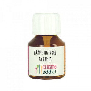 Arôme Naturel Agrumes 58 ml Cuisineaddict