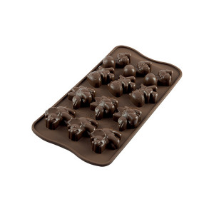 Moule à Chocolat 12 Dinosaures Easy Choc - Silicone Spécial Chocolat