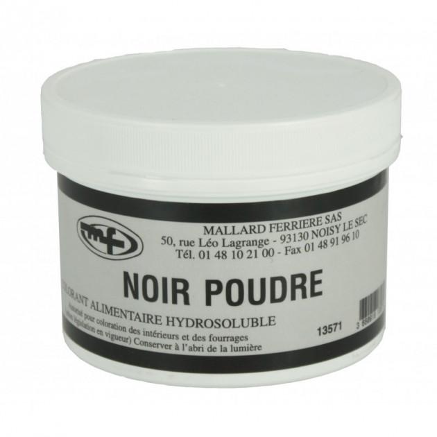 Colorant alimentaire Noir Charbon E153 Poudre Hydrosoluble 50g