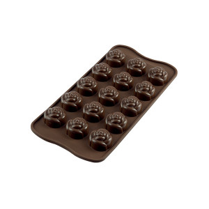 Moule à Chocolat 15 Roses Easy Choc - Silicone Spécial Chocolat