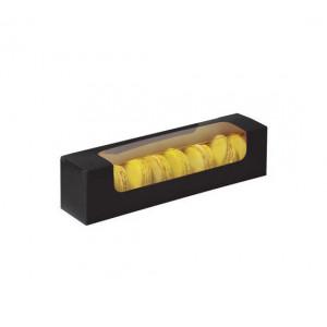 Boîte 8 Macarons avec Fenêtre 23 cm