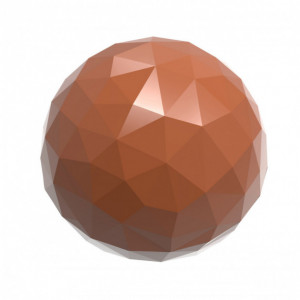 Moule Chocolat Boule à Facettes Ø 25 mm (x24) Chocolate World