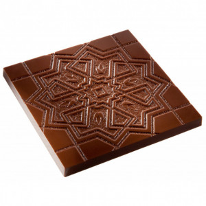 Moule Chocolat Mosaïque Orientale 99,5 mm (x2) Chocolate World