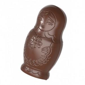 Moule Chocolat Poupée Russe 50 mm (x16) Chocolate World