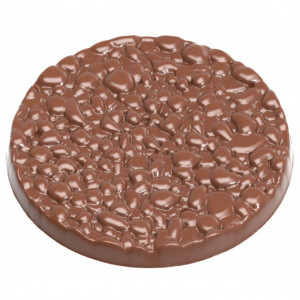 Moule Chocolat Disque Riz Soufflé Ø 99,13 mm (x2) Chocolate World