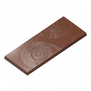 Moule Tablette Chocolat Fossile 117x48mm (x4) Chocolate World