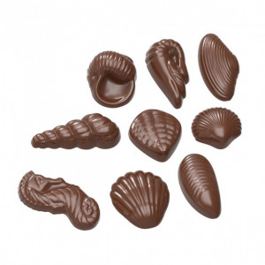 Moule Chocolat Fruits de Mer (x22) Chocolate World