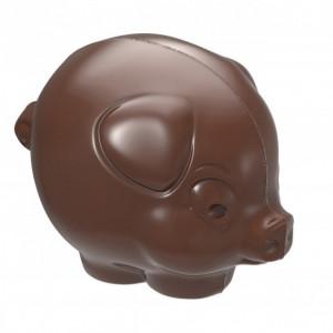 Moule Chocolat Cochon 37,5 mm (x14) Chocolate World