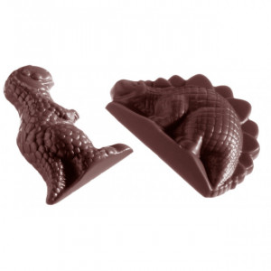 Moule Chocolat Dinosaures 35 mm (x12) Chocolate World
