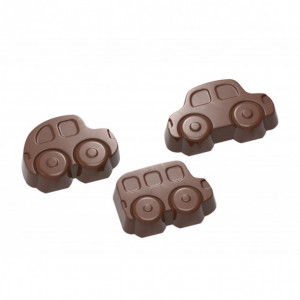 Moule Chocolat Voitures 37,5 mm (x24) Chocolate World