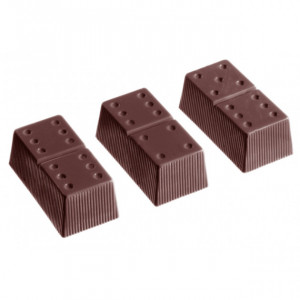 Moule Chocolat Domino 41 x 21 mm (x24) Chocolate World