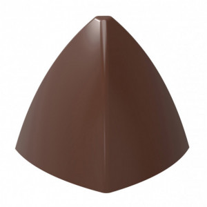 Moule Chocolat Pyramide Arrondie 31 mm (x21) Chocolate World