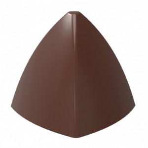 Moule Chocolat Pyramide Arrondie 31 mm (x21) Chocolate World