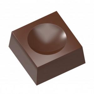 Moule Chocolat Carré Creux 43 mm (x10) Chocolate World