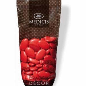 Dragées Chocolat Rouge Coquelicot 250g Médicis