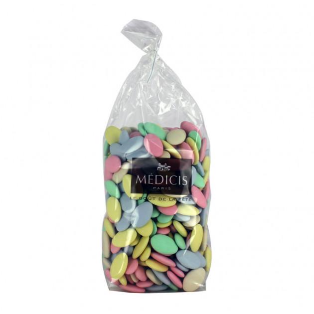 Dragees Chocolat Multicolores 1kg Medicis