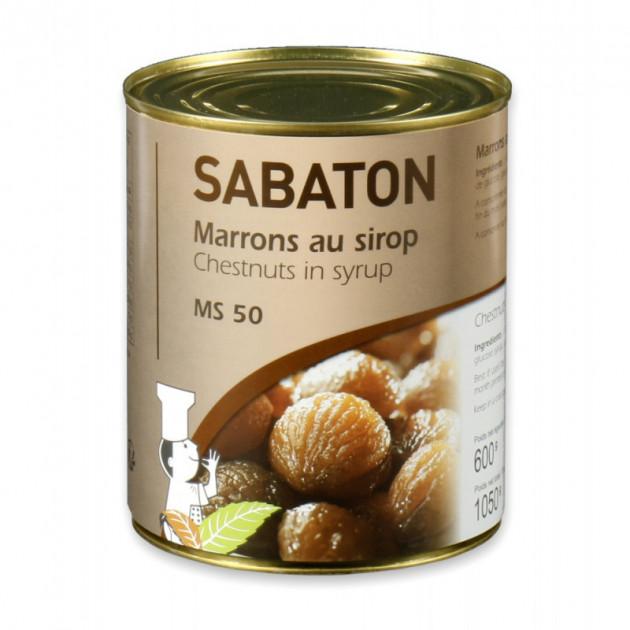 Marrons au sirop Sabaton 1050 g