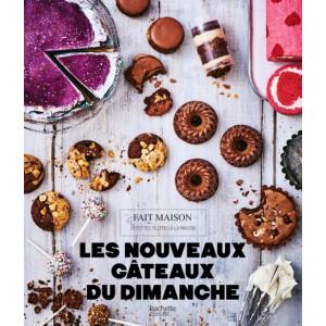 Livre de recettes Les nouveaux gâteaux du dimanche, chez Hachette
