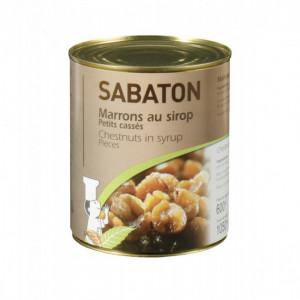 Mini Marrons au Sirop Sabaton 1050 g