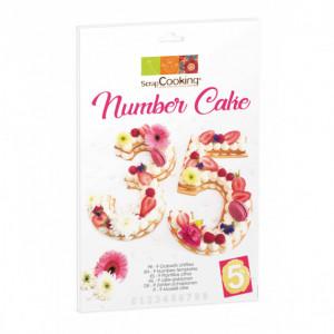 Kit Number Cake 28 cm Scrapcooking