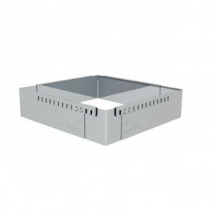 Cadre Pâtissier Extensible Inox 16 à 30 cm De Buyer