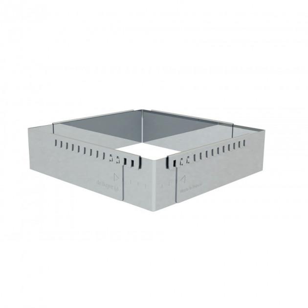 Cadre Patissier Extensible Inox 16 a 30 cm De Buyer