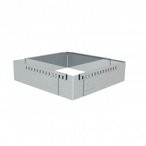 Cadre Pâtisserie Rectangulaire Inox 21.5x11.5 cm De Buyer