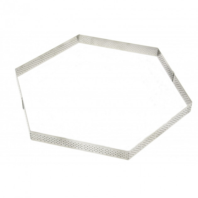 Cercle a Tarte Perfore Hexagone Ø20 cm De Buyer