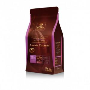 Lactée Caramel, Pistoles Chocolat Couverture 31,1 % 1 kg
