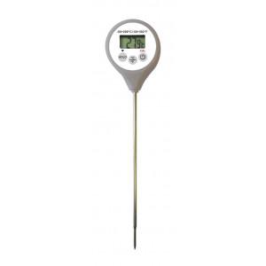 Thermomètre Digital étanche à sonde HACCP gris -50°C à +200°C