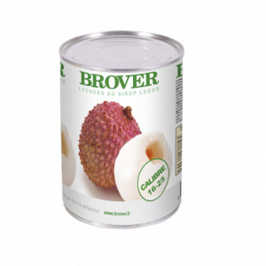 Lychees au Sirop léger 3/4 Brover