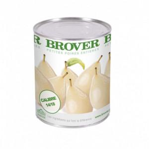 Petites Poires au Sirop léger 4/4 Brover