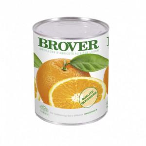Oranges en tranches au Sirop léger 4/4 Brover